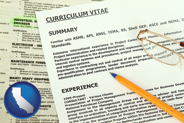 resume services in california